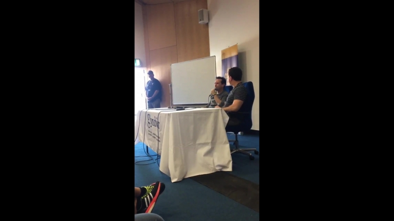 If you could pick a character from a book to play, who would it be - Andrew Scott WalesComicCon