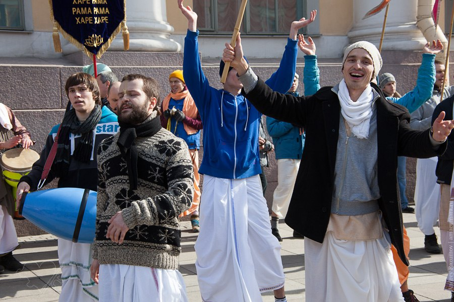 кришнаиты в Санкт-Петербурге харе кришна