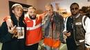 Chris Brown Jaden Smith Diddy at DJ Khaled x Demi Lovato Tour LA