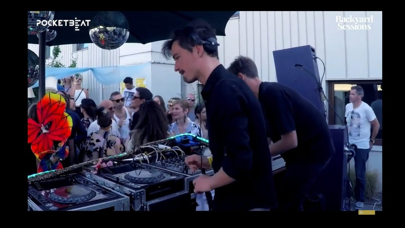 Stavroz DJ set live at Backyard Sessions Rooftop Party Malmö