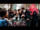 LIVE: Studenten protestieren in Paris gegen neue Studiengebühren