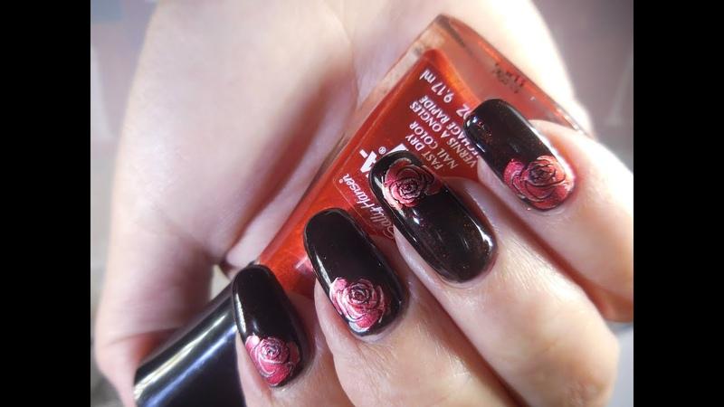China Glaze Lubu Heels with Roses