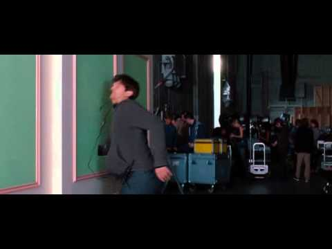 No Strings Attached - punching a hole through a wall SCENE