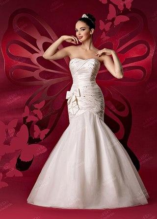 свадебное платье русалка BB139 image 1.