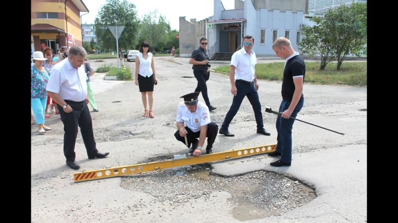 Дорожная инспекция ОНФ в Невинномысске