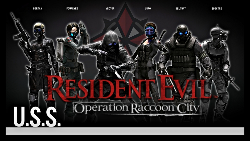 RESIDENT EVIL Operation Raccoon City - U.S.S. Campaign [ 1 ]