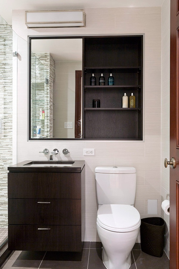 Лучший функциональный дизайн маленькой ванной комнаты 2019