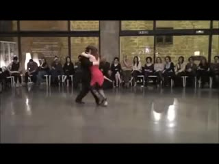 Graciela y osvaldo tango canyengue _ show performance in barcelona