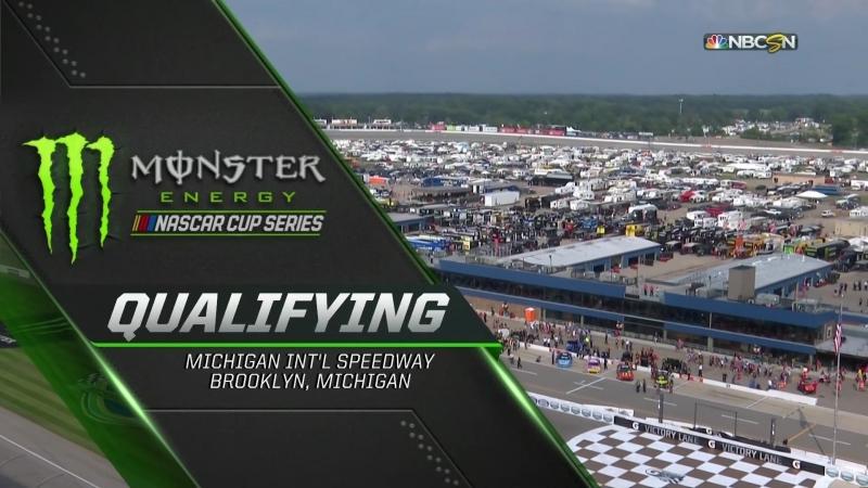 2018 NASCAR Monster Cup - Round 23 - Michigan - Квалификация