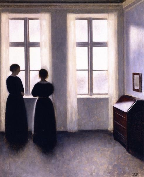 Вильгельм Хаммерсхёй, Vilhelm Hammershøi (15 мая 1864-1916) Дания