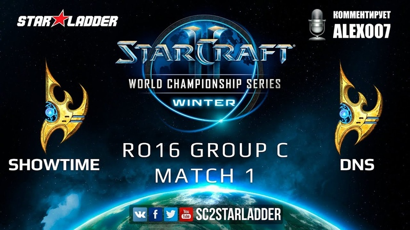 2019 WCS Winter EU - Ro16 Group C Match 1 ShoWTimE (P) vs DnS (P)