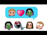 «Стражи Галактики. Часть 2» в пересказе Emoji
