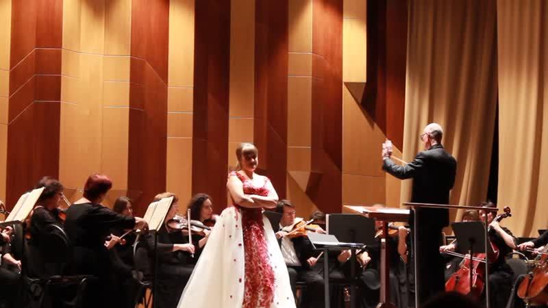 Антонина Весенина Ария Розины из оперы Севильский цирюльник