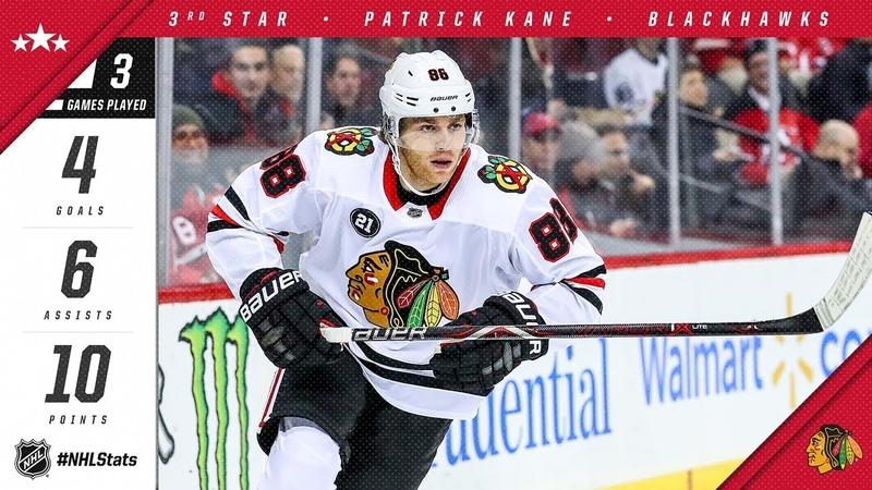 Patrick Kane earns third star of the week