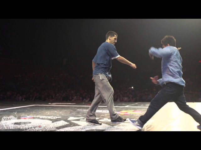 BBOY ISSEI vs BBOY SLAV   Bboy Solo Semi Final   Seoul, South Korea R16 2013