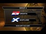 Qualifier 2014 Croatia vs Scotland 2013/06/07 Full Match Replay