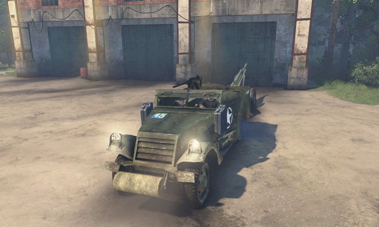 M3 Scout Car 1st Armoured Division для 03.03.16 для Spintires - Скриншот 2