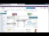 Фильм о том, как пользоваться Yahoo Finance