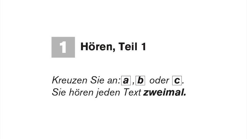 Start Deutsch A1 hören