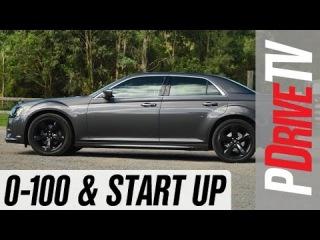 2014 Chrysler 300S 0-100km/h and engine sound