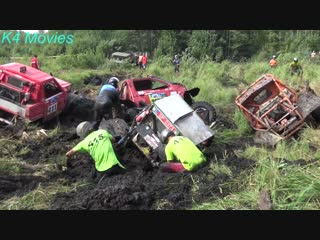 4x4 off-road vehicle mud, water race ¦ klaperjaht 2018