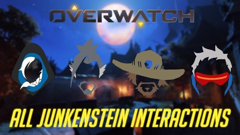 Overwatch All Junkenstein Interactions 2016 Edition