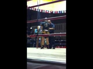 Тайский бокс. Женщины. Нокаут