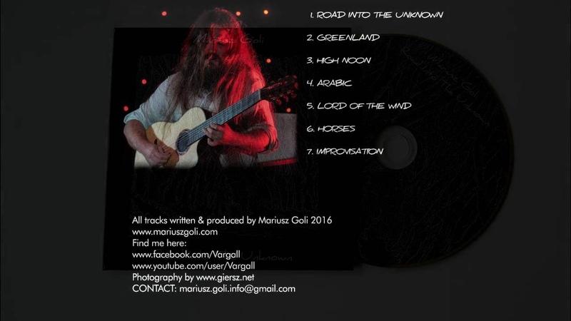 Mariusz Goli - Improvisation (CD Album) orginal acoustic guitar song