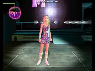 Прохождение игры : Ханна Монтана в кино (1 часть).