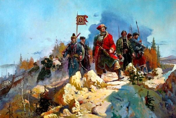 СИБИРСКИЙ ПОХОД ЕРМАКА. БОЙ У ОЗЕРА АБАЛАК Говоря о Сибирском походе Ермака, положившему начало процессу ликвидации Русским царством очередного татарского ханства, вспоминают, как правило,