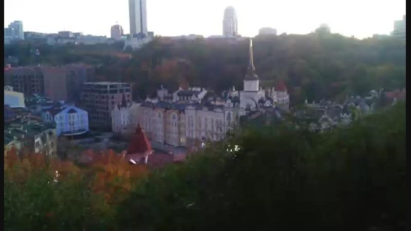 С Замковой горы. Киев