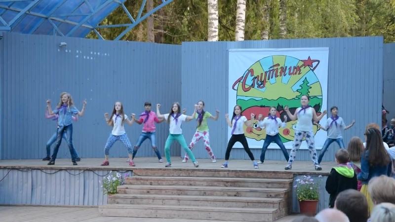 Концерт в Спутнике 7 отряд танец Солянка