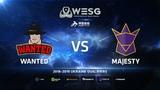 Wanted vs MAJESTY, inferno, WESG 2018 Ukraine Qualifier #3