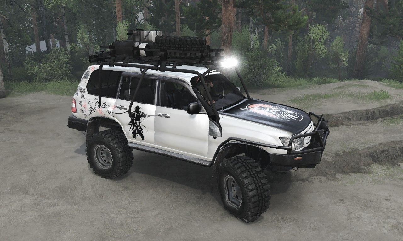 Toyota Land Cruiser «Samuray» для 03.03.16 для Spintires - Скриншот 1