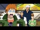 Fairy Tail 15 minutes of crazy fun Natzu Erza Lucy Happy swaps their bodies ENG DUB