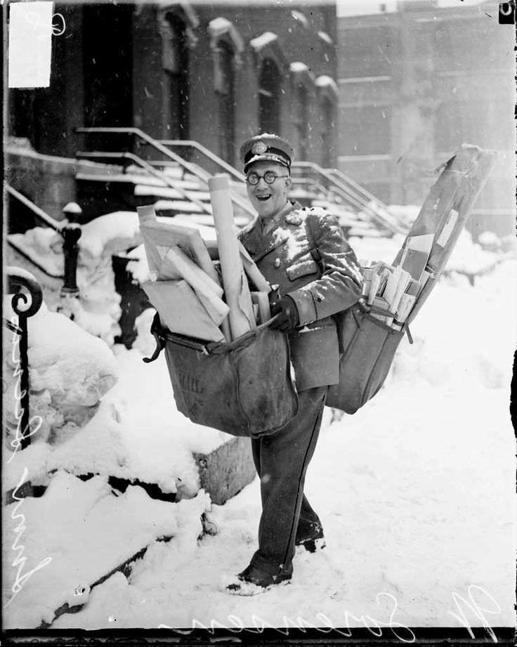 Веселый почтальон, Чикаго, 1929 год