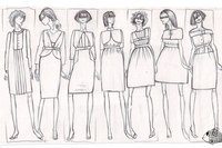 эскизы юбки
