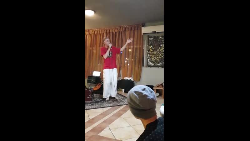 Харе Кришна Рэп от МС Дена