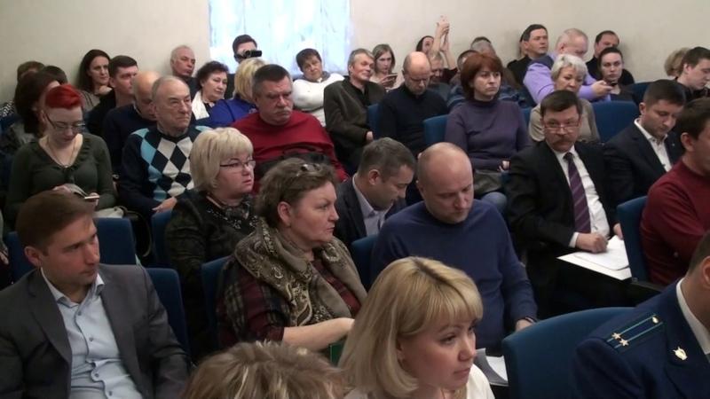 Павла Грудинина сняли с должности председателя Совета г.п. Видное. Видеозапись заседания