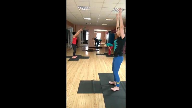 Atletic-Stretching с Людмилой Борзецовой