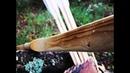Construção de arco tradicional ash self bow
