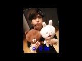 [♥GOT7 Line Update♥] GOT7 Jackson留言問候:韓文版,中文版,廣東版