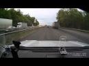 ДТП на трассе М5 около Жуково (Уфа), регистратор TrendVision 107