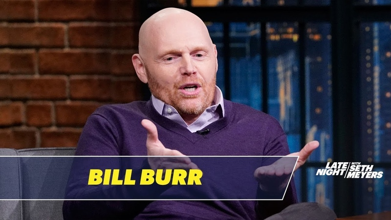 Bill Burr Got His Helicopter License Because of a Conspiracy Theory