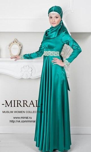 Мусульманские платья на никах