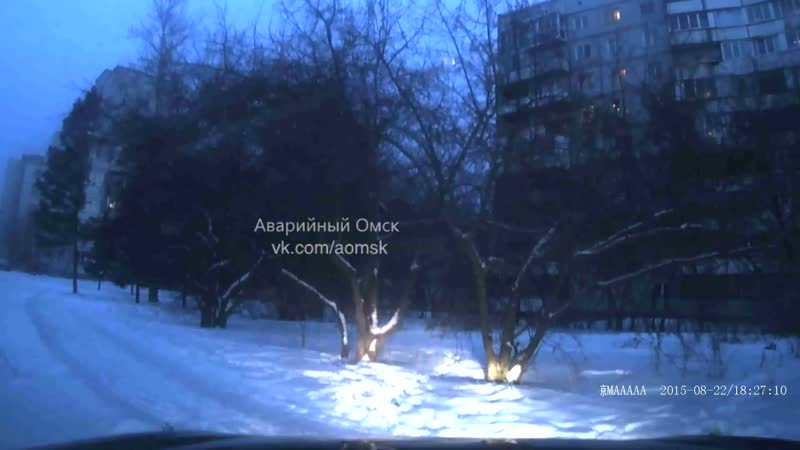 Пешеходы на дублере Лукашевича Омск