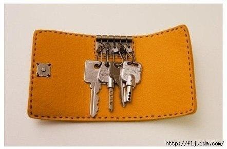 Кошелёк для ключей своими руками
