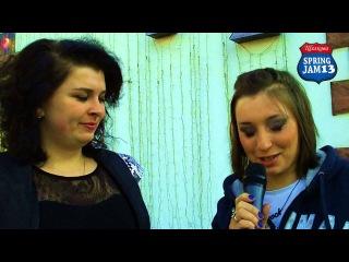 The Spring Jam Festival 2013 Интервью Дарья гр.Тостер Марс