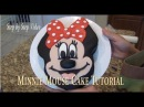 Minnie Mouse Cake Tutorial ( Step by Step video)
