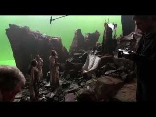 На съемочной площадке фильма